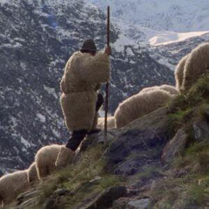 vivir en un mundo donde nadie necesite nada: sólo abrigos para el invierno...