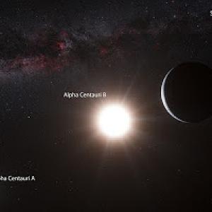 viajar a Alfa Centauri...
